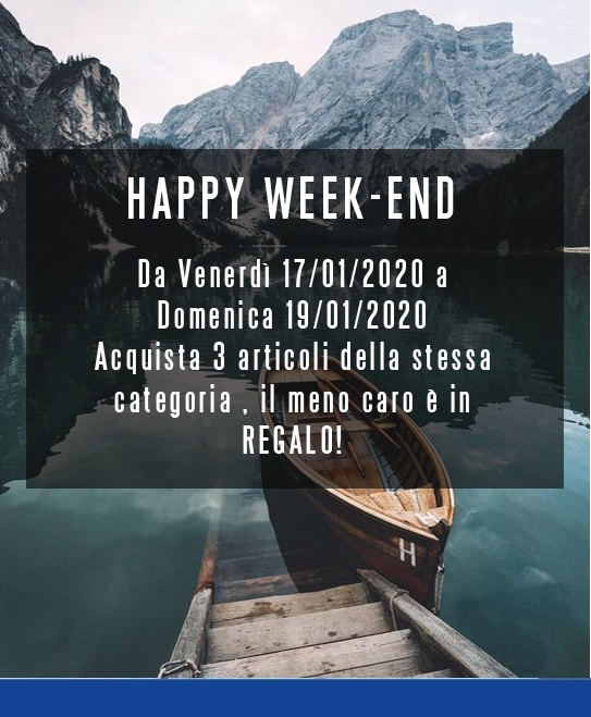 Docksteps factory outlet, Happy weekend dal 17 al 19 gennaio 2020